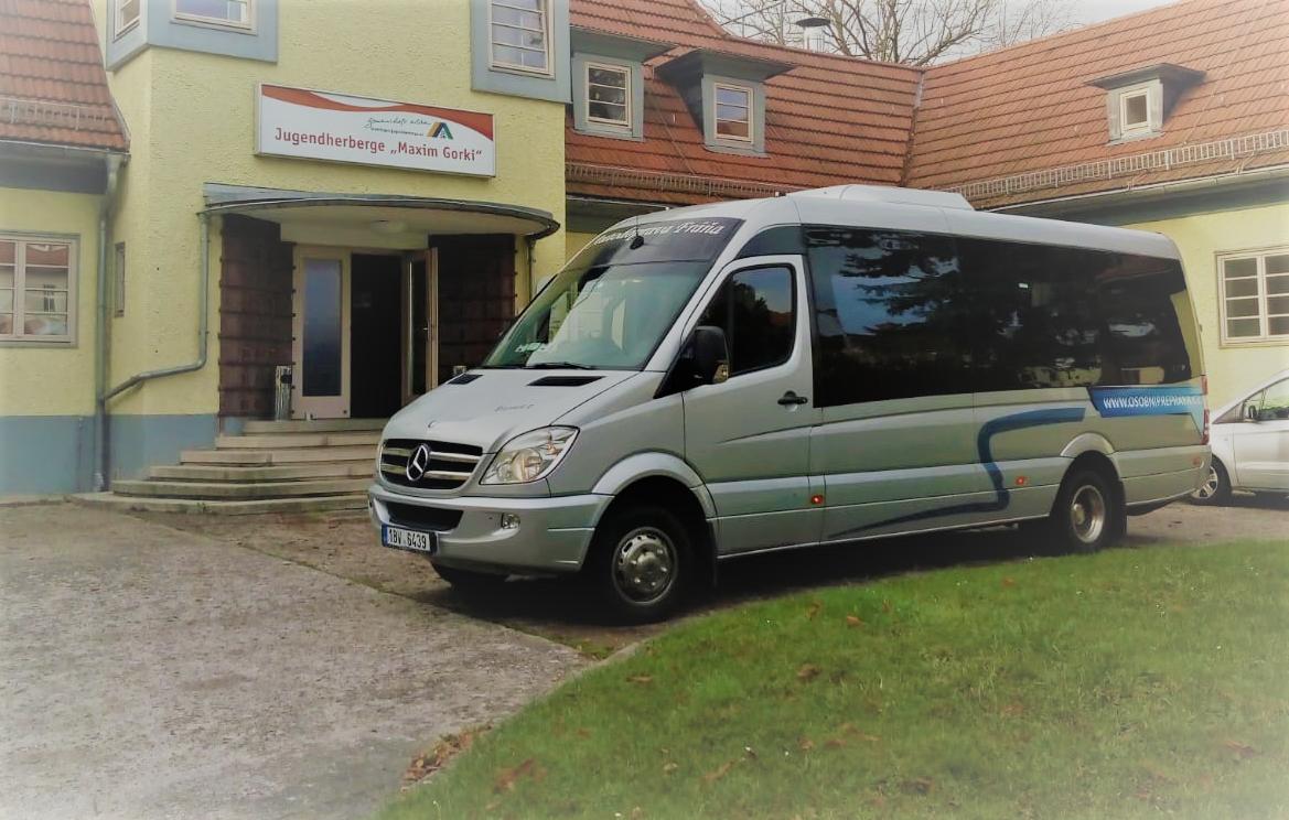 Autobusem do Německa 1